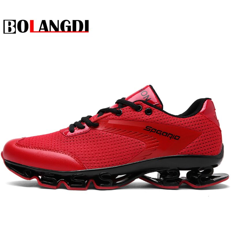 BOLANGDI Spring Autumn Men's Sneakers 2017 Men Running Shoes Trending Style Sports Shoes Breathable Trainers Sneakers For Male