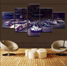 High Grade Sports Car HD Print Painting 5 Piece Canvas Art Modern Decor painting on canvas poster Room