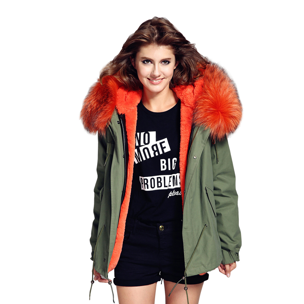 2017 woman army green Large raccoon fur collar hooded coat parkas outwear 2 in 1 detachable lining winter jacket brand style cheji women mtb cycling jersey sets bike outdoor sportswear maillot clothing quick dry cycling clothing long sleeve jersey