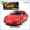 Mr.Froger POR Alloy car models Toy 1:43 911 Carrera 4 Coupe 2001 Refined metal vehicles Sports cars Decoration Classic Toys cute