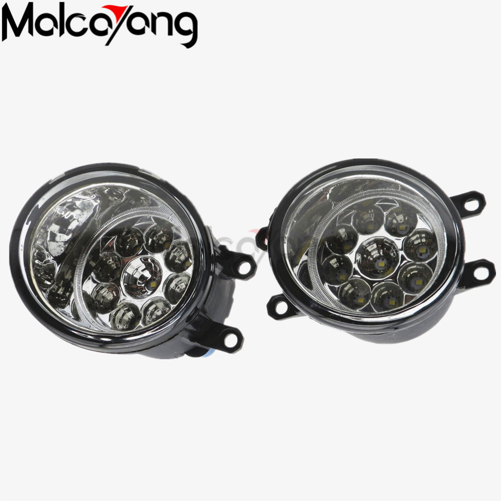 For toyota RAV4 2006/07/08/09/10/11/12 Car styling Front bumper fog lamps Original Fog Lights Halogen lamp 81210-06052 2 pcs set car styling front bumper light fog lamps for toyota avensis 2003 2009 fog lights left right 81210 06052