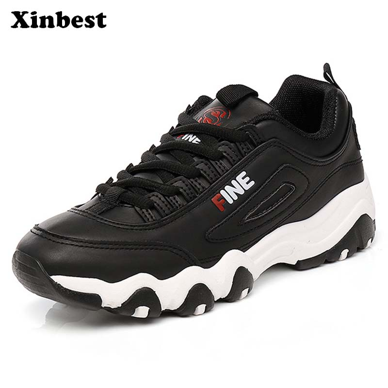 Xinbest Woman Brand Fly line Fabric Outdoor Athletic Women Running Shoes Comfortably Outdoor Jogging Antiskid Womens Sneakers