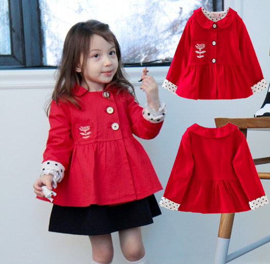 Popular Red Girls Coat-Buy Cheap Red Girls Coat lots from China