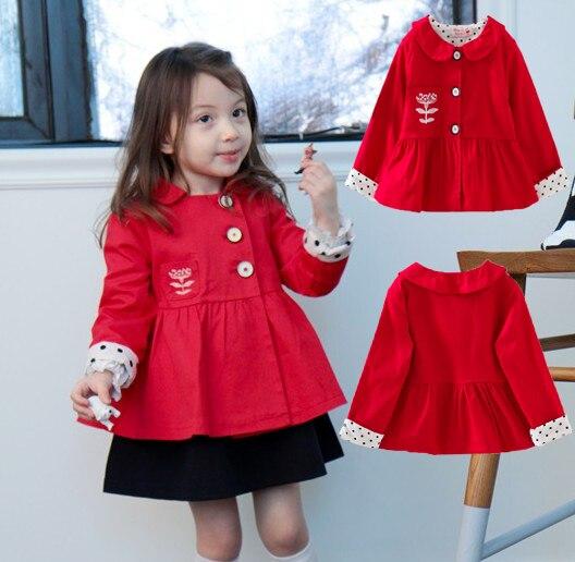 Red Coat For Baby Girl - Coat Nj