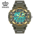SMAEL Sports Watches Men S Shock LED Digital Military Watches G Style 50m Waterproof Wristwatch montre homme Men Gift WS1379