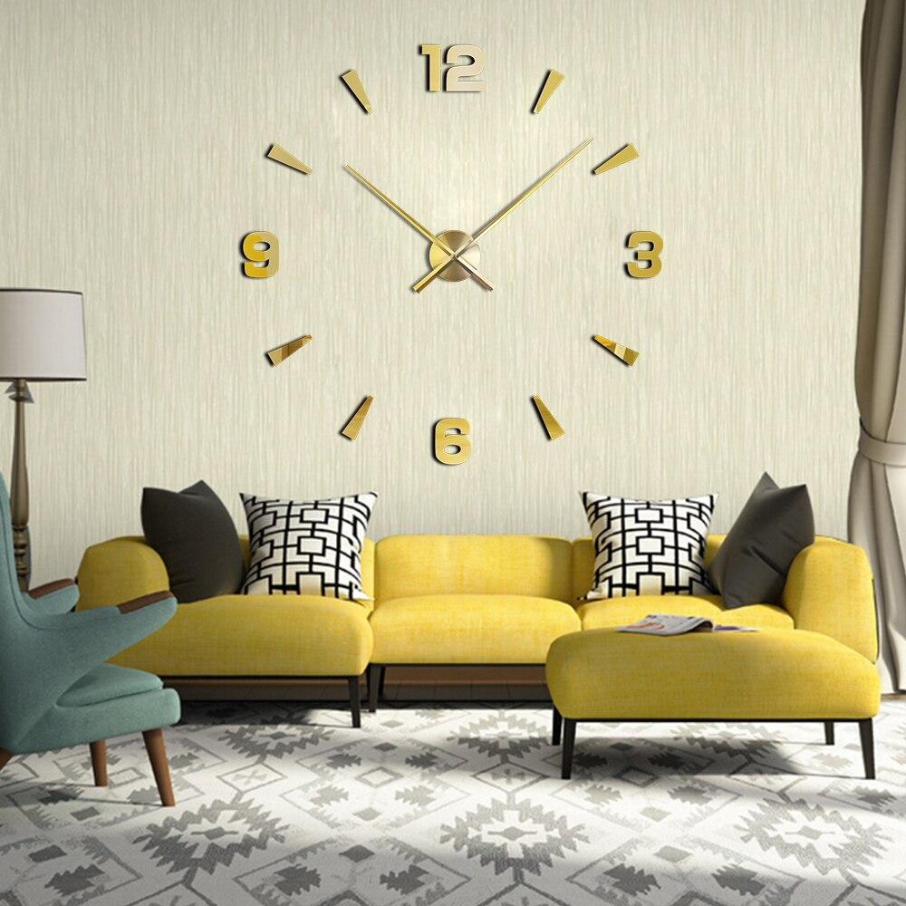 New Arrival Wall Clocks Modern Style Wall Watch Sticker Acrylic 3D ...