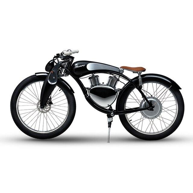 e bike munro 2 0 elektrische motorrad 48 v lithium batterie luxus smart elektrische motorrad 26. Black Bedroom Furniture Sets. Home Design Ideas