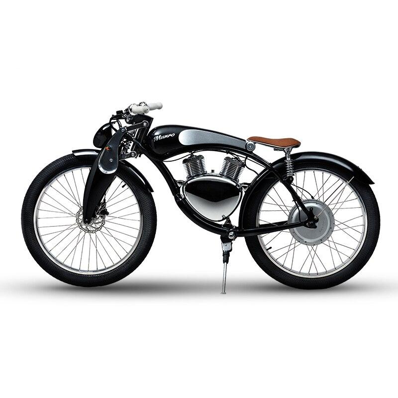 Munro 2 0 font b Electric b font motorbike 48V lithium battery Luxury smart font b