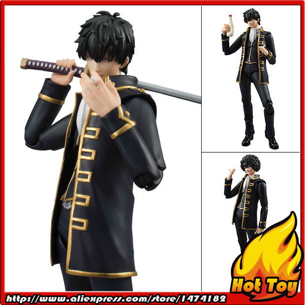 HOT 100% MegaHouse Variable Action Heroes Action Figure - Toshiro Hijikata from Gintama japanese anime one piece original megahouse mh variable action heroes complete action figure dracule mihawk