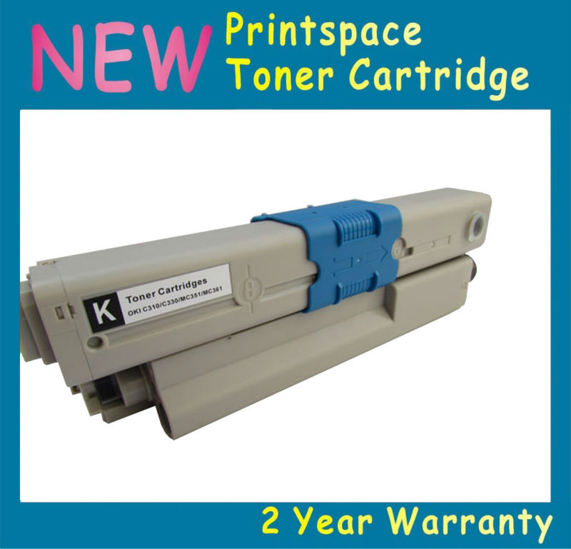 NON-OEM High Capacity Toner Cartridge Compatible For OKI C310dn C330dn C510dn C530dn MC351dn MC352dn Free Shipping powder for oki data 700 for okidata b 730 dn for oki b 720 dn for oki data 710 compatible transfer belt powder free shipping