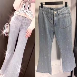 Love Myun Sexy Clothes Women 2018 Casual Blue Skinny Jeans