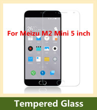 Ultra Thin 9H 2.5D Arc Edge Premium Tempered Glass Screen Protector Anti-scratch Protective Film For Meizu M2 Mini 5 inch