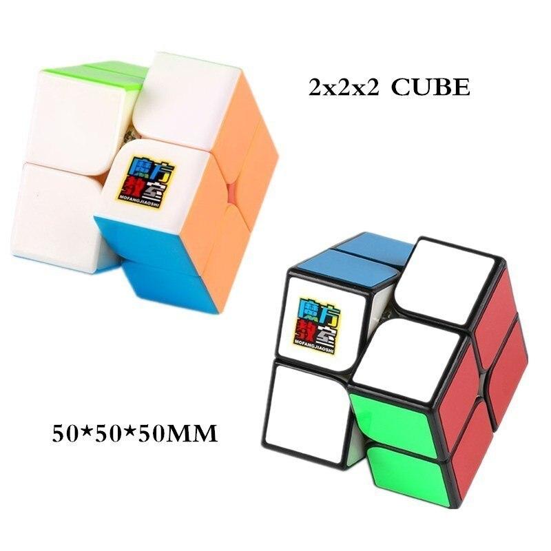 MOYU ensemble 6 pièces Neo Cube Magic 2x2x2 + 3x3x3 + 4x4x4 + 5x5 + 6x6x6 + 7x7x7 Cubes 6 pièces ensemble Puzzle Cube jouets pour enfants - 6