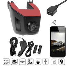 1080P High Definition WiFi Car-styling DVR Glass Lens Auto Wireless APP Control Digital Video Recorder Rearview Camera Dash Cam