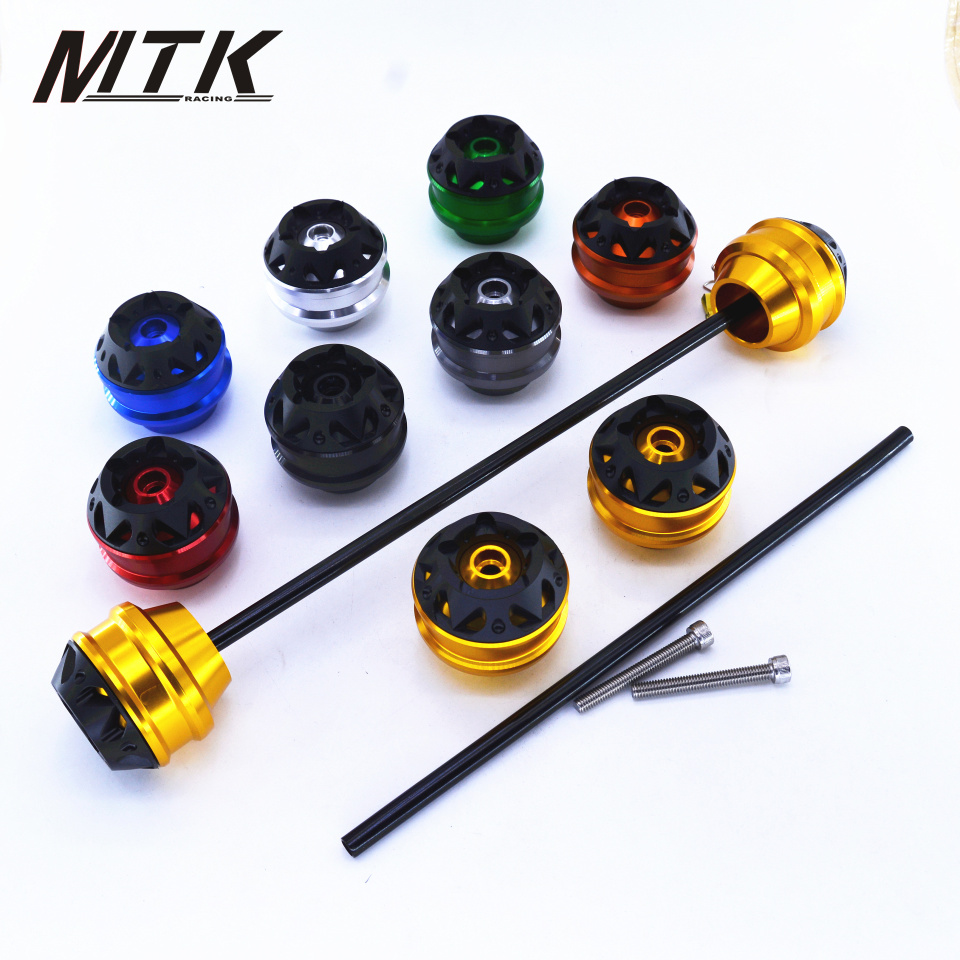 MTKRACING Free shipping For KYMCO AK550 2017-2018 CNC Modified Motorcycle Parts Front and rear wheels drop ball / shock absorber mtkracing for kymco ak550 motorcycle parts headlight protector cover screen lens ak 550 2017 2018