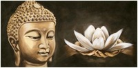 Diamond Embroidery 5D DIY Diamond Painting Buddha Lotus Diamond Painting Cross Stitch Rhinestone Home Decoration