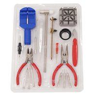 18 UNIDS herramientas de reparación de relojes conjunto venda de reloj pasadores de eslabón removedor herramienta para la joyería relojes Reloj Profesional Herramienta de Reparación de Joyería Kit