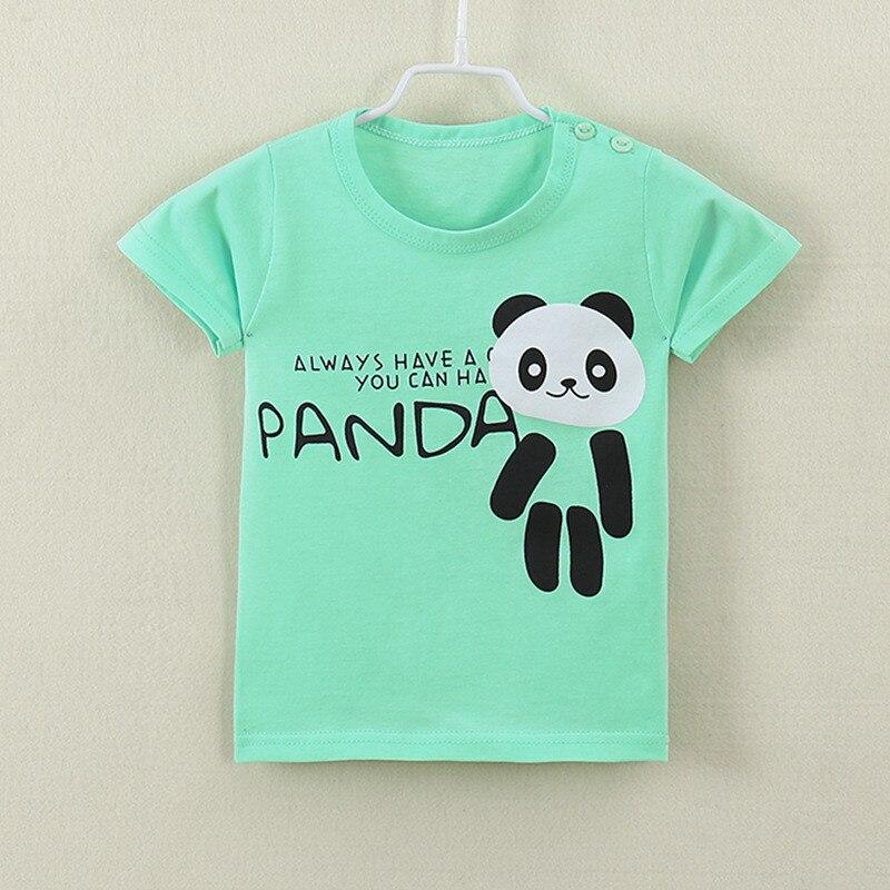 Lollas Cute Girl T Shirt Cotton Short Sleeve T-shirt 2018 Summer New Children Cartoon Kids Girls Tee Shirts Childs Clothes