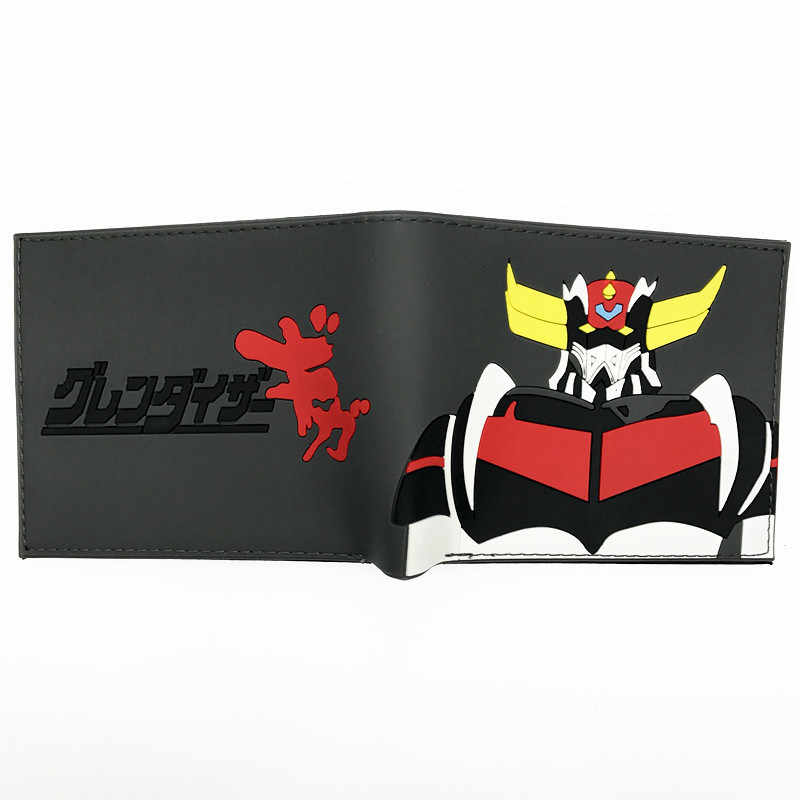 New Arrival MAZINGER Z Hatsune Miku Death Note Walking Dead Totoro DC Marvel Cartoon Silica Gel Short Wallet For Young