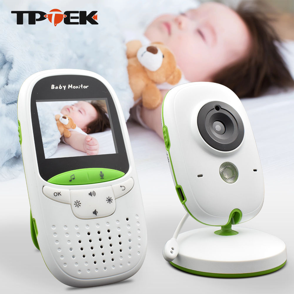 Baby Monitor VB602 Wireless Audio Video Baba Electronic Portable Intercom Babyfoon Camera BeBe Nanny Walkie Talkie Babysitter d1020 portable walkie talkie bebe baby sound monitor handheld radio toy electronic babysitter baby monitor radios without wifi
