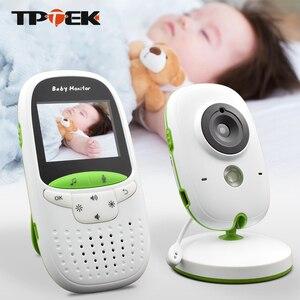 Image 1 - Baby Monitor VB602 Wireless Audio Video Baba Elektronische Tragbaren Gegensprechanlage Babyfoon Kamera BeBe Nanny Walkie Talkie Babysitter