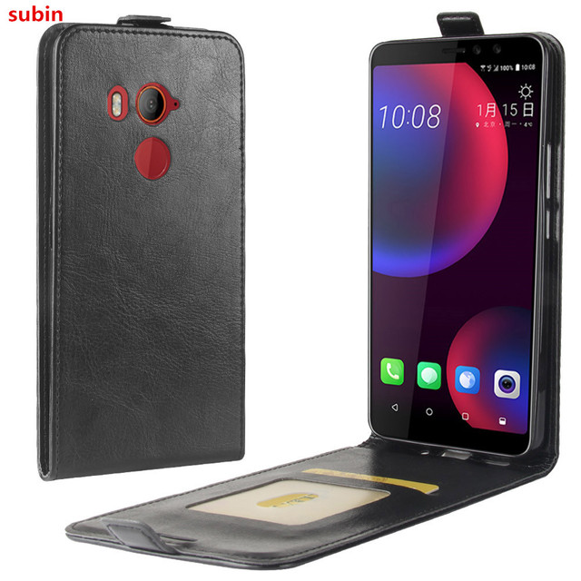 official photos 3f823 8e256 US $3.6 11% OFF|Aliexpress.com : Buy For HTC U11 EYES Case Cover Original  Leather Case Protective Shell Funda For HTC U11 EYES Flip Cases from ...