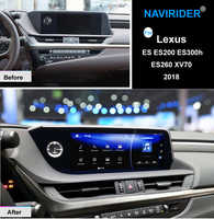 NAVIRIDER Android 7.1 Car multimedia GPS Audio Radio Stereo For Lexus ES ES200 ES300h ES260 XV70 2018 Original Style Navigation