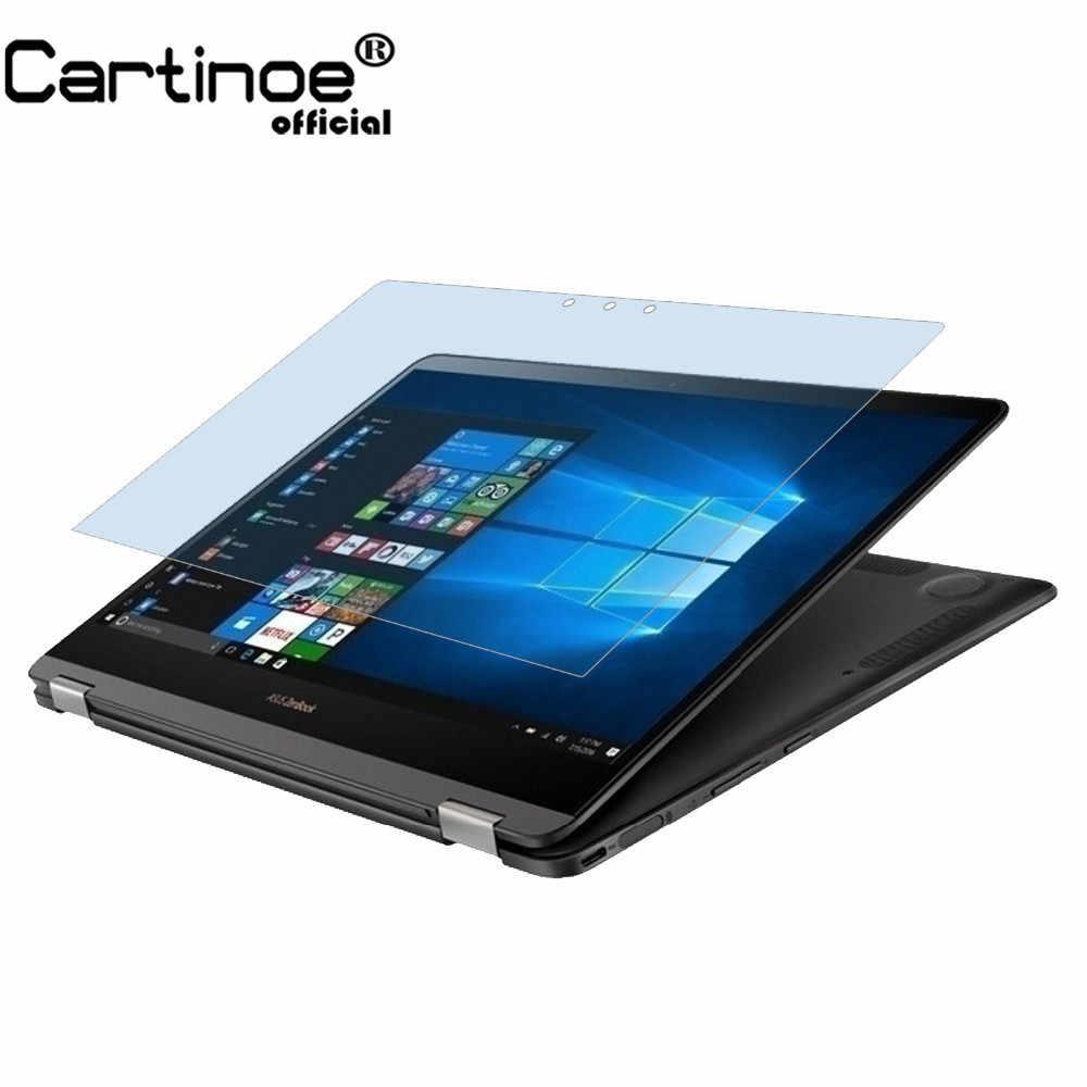 """Cartinoe 13.3 インチラップトップのスクリーンプロテクター Asus Zenbook S Ux370ua 13.3 """"ノートブック青色光のスクリーンフィルム (2 個)"""