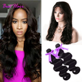 360 Frontal With Bundles Brazilian Body Wave 360 Lace Frontal With Bundle Brazilian Hair Weave Bundles With 360 Frontal Closure