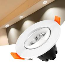 E14 lámpara de techo LED de 5 W de ángulo ajustable foco AC220V bombilla led(China)
