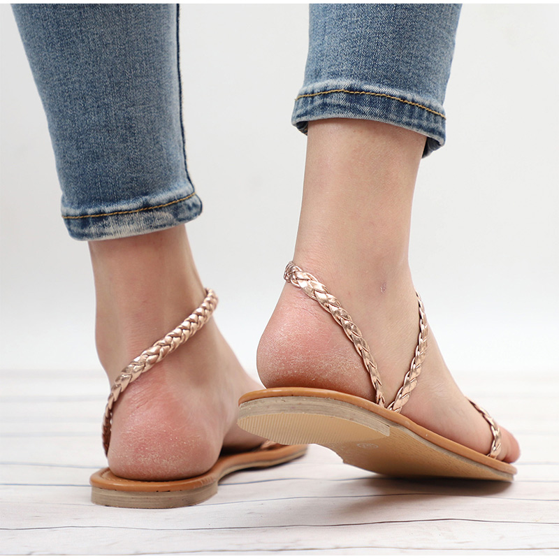 Plus Size Thong Sandals