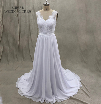 Chiffon Beach Wedding Dress Bridal Gown Dresses For Bride Custom Made To Order Superbweddingdress
