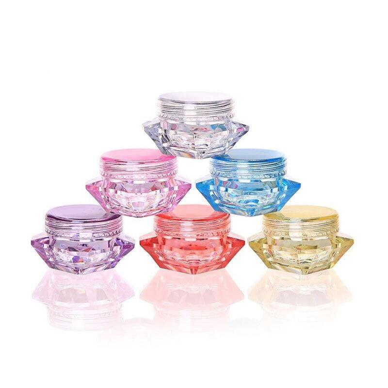 Pigment Jar-Pot Vials Container-Fit Cosmetic Makeup Lips-Balms Face-Cream Glitter-Bead