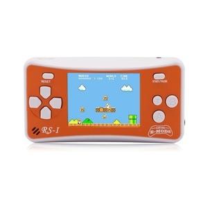 """Image 2 - 2.5 """"어린이를위한 8 비트 휴대용 비디오 휴대용 게임 콘솔 레트로 162 클래식 게임 플레이어 80 년대 아케이드 비디오 게임 시스템"""