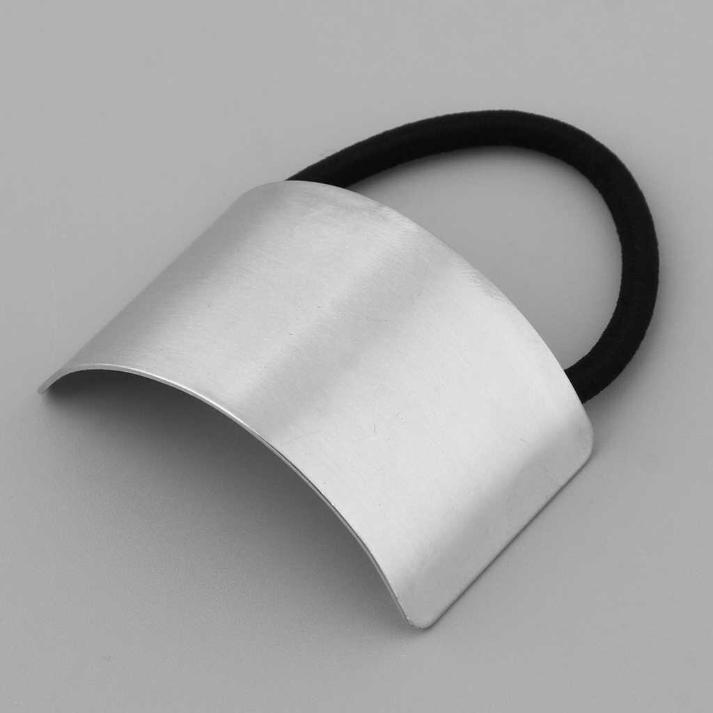 1 шт. женские металлические золотые серебряные резинки для волос резинка для конского хвоста крышка манжеты держатель для обертки эластичная веревка лента подарок