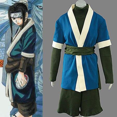 Naruto Haku Cosplay Costume Halloween Costumes Naruto Kimono Anime Cosplay
