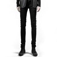 Обтягивающие джинсы Для мужчин улица мужские брюки карандаш Повседневное ноги штаны черный Для мужчин s обтягивающие джинсы уличной хип хо