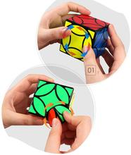LeadingStar QIYI Copper Coin Smart Cube Smooth Irregular Speed Puzzle Cubes Educational Toys for Children ZK30