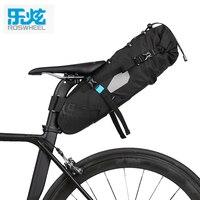 ROSWHEEL ATTACK 2017 NEWEST 7L 100 Waterproof Bike Bag Bicycle Accessories Saddle Bag Cycling Mountain Bike