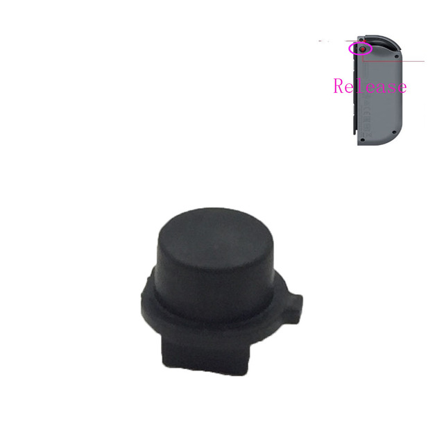 50PCS สีดำปุ่มล็อคปุ่มสำหรับ Nintendo Switch Joy Con ปุ่ม Clasp