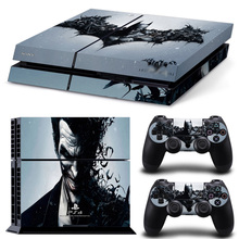 Cool Batman Decal Sticker Cover & 2 Controller Skins PS4 Skin Stickers