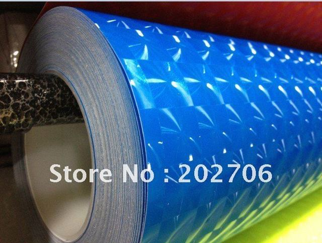 High quality 4D 1.52X30M Cat eye carbon fiber vinyl,Cat Eyes Flashing, For Car Wrap  (air free bubbles) for 8 colors
