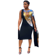 Doyerl Elegant Sparkly Sequin Bodycon Dress Women Long Sleeve Sexy Club  Party Dresses a65b2034c5fe