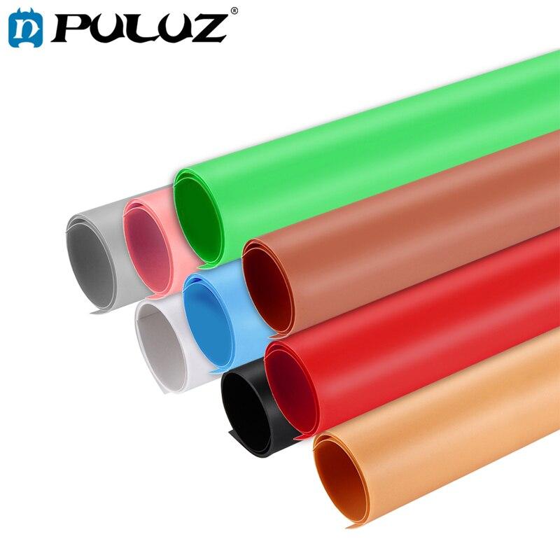 PULUZ Fond Pour Photo Studio Photographie Fond PVC Papier Kits Pour Tente Boîte Taille 120x60 cm Décors