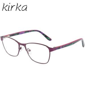 fe73fa1382 Kirka Eyeglasses Frame Women Vintage Glasses Metal Eyewear Frames Eye  Glasses Frames For Women Designer Brand Luxury