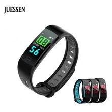 ФОТО juessen js01 fitness bracelet for xiaomi mi band 2 tracker sport pedometer relogio inteligente smart watch men pk miband 2