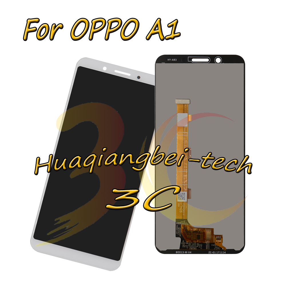 New 5.7 White For OPPO A1 Full LCD DIsplay + Touch Screen Digitizer Assembly 100% Tested With TrackingNew 5.7 White For OPPO A1 Full LCD DIsplay + Touch Screen Digitizer Assembly 100% Tested With Tracking