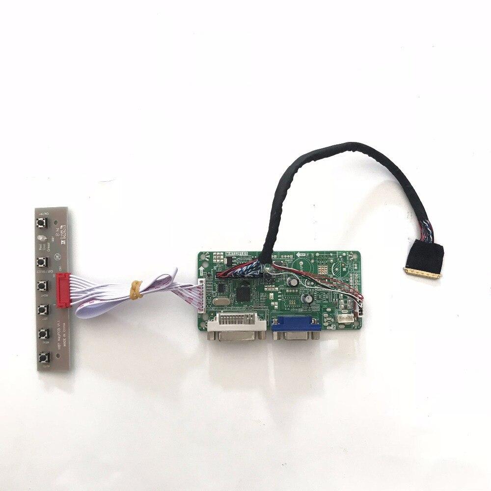 RT2281 DVI VGA LVDS LCD Controller Board Kit for 15.6 Inch LP156WF4-SLB1 LED Panel 1920x1080 LP156WF4 SLB1 DIY kit