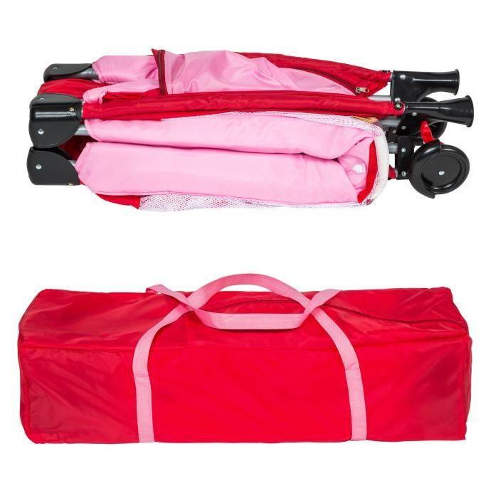 Lit bébé pliant multifonctionnel Portable lit bébé avec couches Table à langer voyage enfant jeux lits pour berceau bébé HWC - 3
