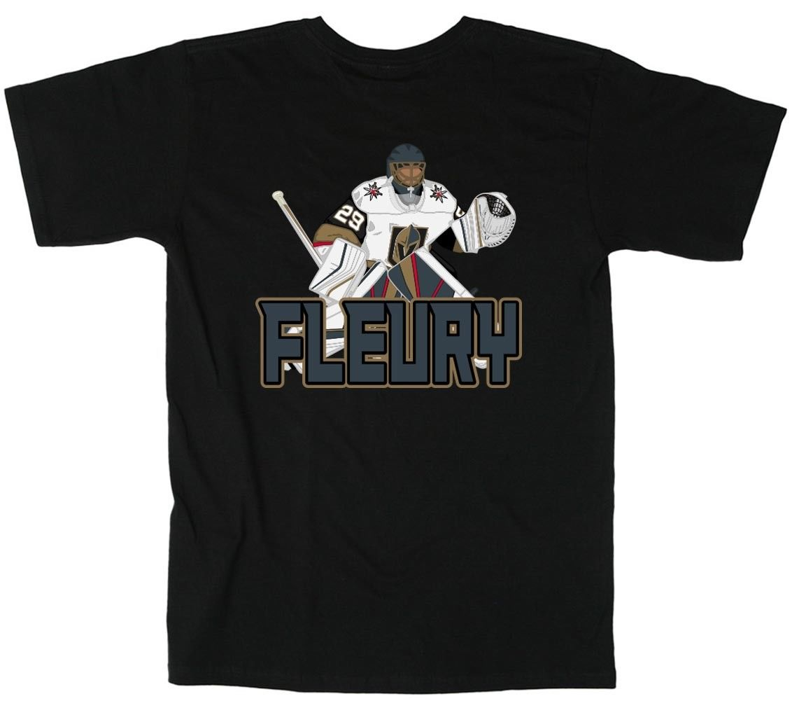 brand new 559b9 78a34 US $12.61 13% OFF|Marc Andre Fleury Las Vegas Golden Knights